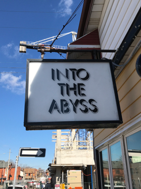 Into The Abyss record Store on Locke St.