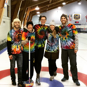 best dressed curling team EVER!
